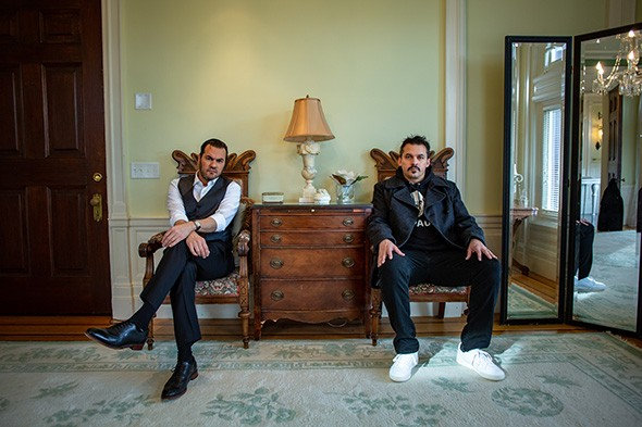 Minneapolis hip-hop duo Atmosphere plays  8 p.m. Feb. 1 at Tower Theatre. - CODY OTTE / PROVIDED
