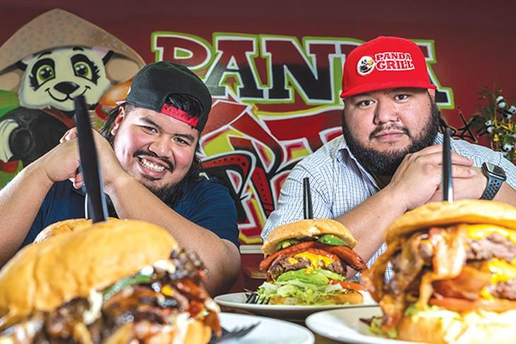 """Brothers Marco and Ignacio """"Nacho"""" Castro at Panda Grill - PHILLIP DANNER"""