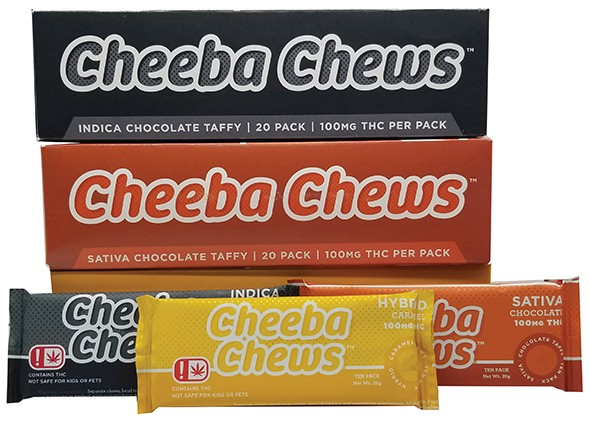 Cheeba Chews THC taffy - PROVIDED