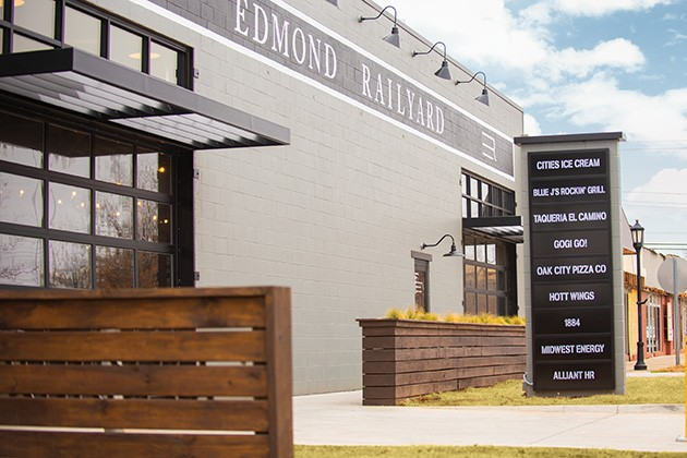 Only two of Edmond Railyard's seven food and drink tenants have yet to open but are expected to do so within a month and a half. - MIGUEL RIOS