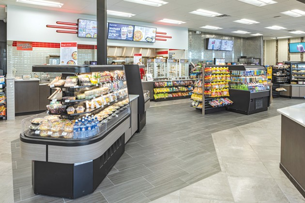 Casey's General Stores offer a selection of freshly made food. - PROVIDED
