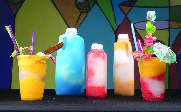Customers can get daiquiris in the lounge or take them to-go in a sealed container. - PHILLIP DANNER