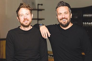 from left Jonathon Stranger and Fabio Viviani - GAZETTE / FILE AND PROVIDED