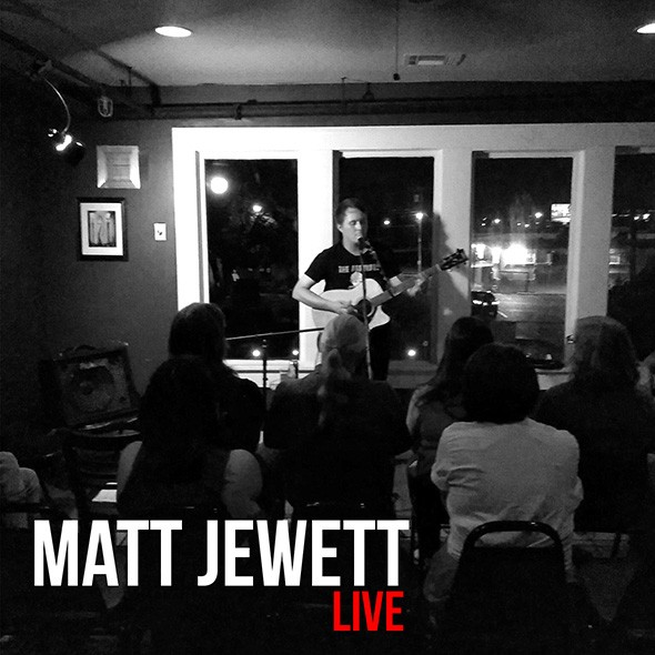 Matt Jewett Live will be released Friday through local record label Robot Saves City. - JAMES NGHIEM / PROVIDED