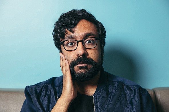 Hari Kondabolu performs 8 p.m. March 12 at The Paramount Room. - ROB HOLYSZ / PROVIDED