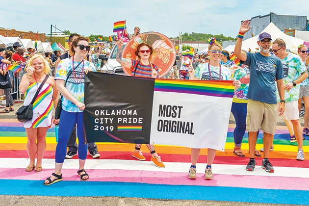 Pride Alliance kicks off its Pride Week June 15 at Tower Theater with the festival and parade June 19-21 in downtown OKC. - NICK MAREK PHOTOGRAPHY / PROVIDED