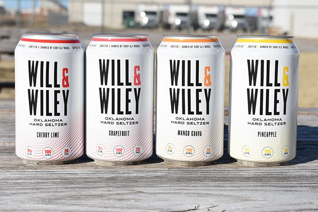 Will & Wiley is available in individual flavor six-packs or variety 12-packs. The four flavors at launch are mango guava, pineapple, grapefruit and cherry. - PROVIDED