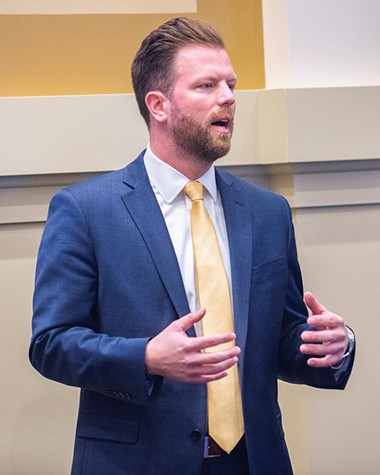 Rep. Jason Dunnington refiled the bill that did not receive a hearing last year. It passed out of committee last month. - MIGUEL RIOS