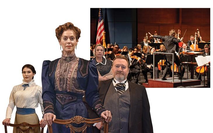 Oklahoma City Repertory Theatre | Image Wendy Mutz / provided • Oklahoma City Philharmonic | Photo Shevaun Williams and Associates / provided