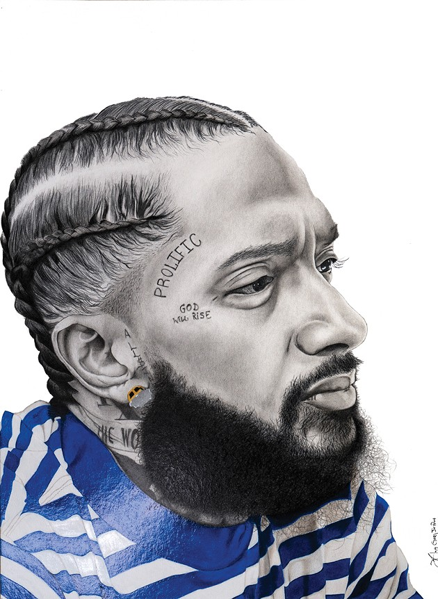 """Nipsey Blue"" - GREG POGUE JR. / PROVIDED"