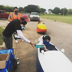 A mask distribution event hosted by the City of OKC. - CITY OF OKC
