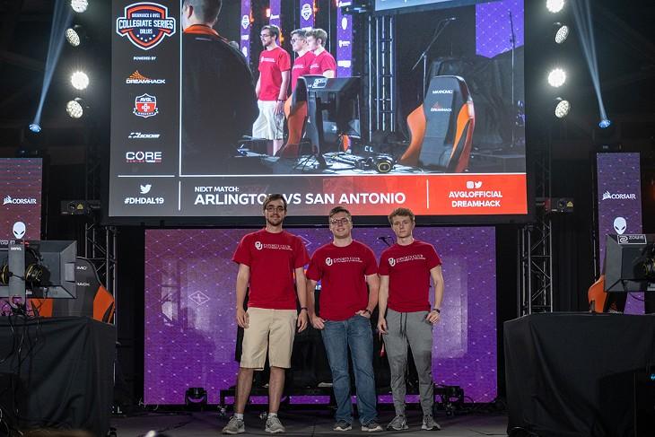 Oklahoma University Esports Team - PHOTOS PROVIDED   SOONERESPORTS.ORG