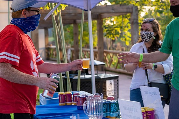 Hundreds of people and dozens of breweries participate each year in the Oklahoma City Zoo's ZOObrew event - PHOTO PROVIDED