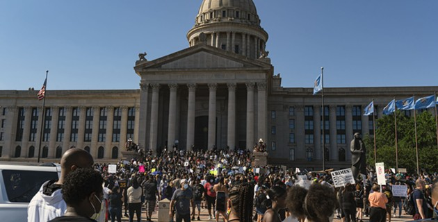 Black Lives Matter OKC protest slideshow and call for cleanup
