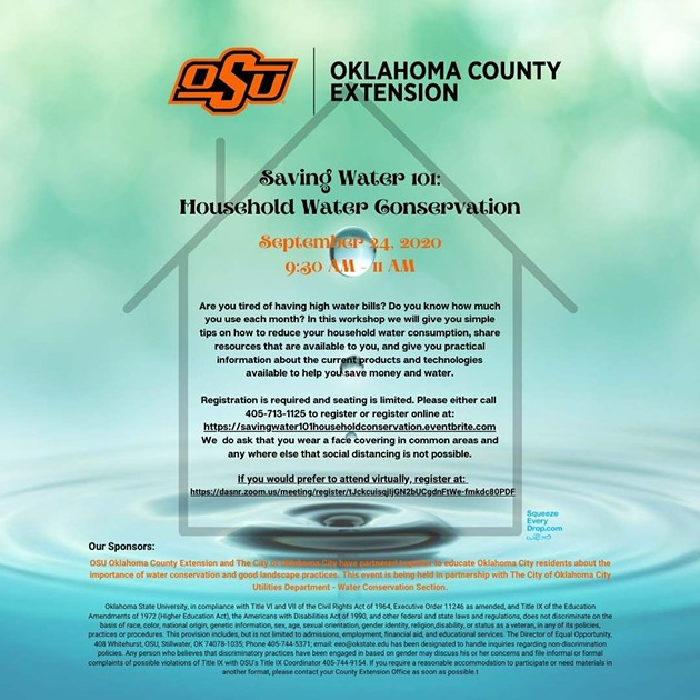 Saving Water 101: Household Water Conservation