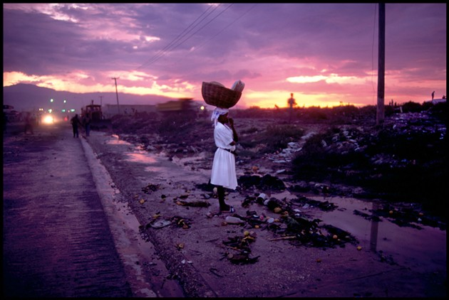 Peter Turnley (American, b. 1955) Near Cité Soleil, Port - au - Prince, Haiti , 1994, Archival pigment print, 20 x 24 in. (sheet). Oklahoma City Museum of Art, Gift of Ryon and Lauren Beyer in honor of the Museum's 75th anniversary, 2019.189