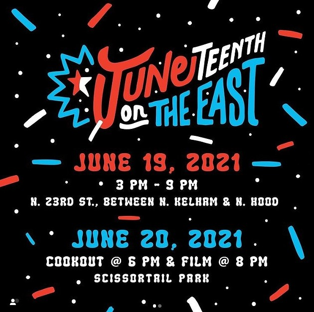 Juneteenth on the East June 19, 2021 3-9 pm