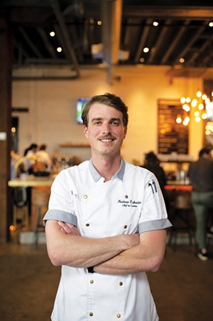 Best chef - Andrew Eskridge