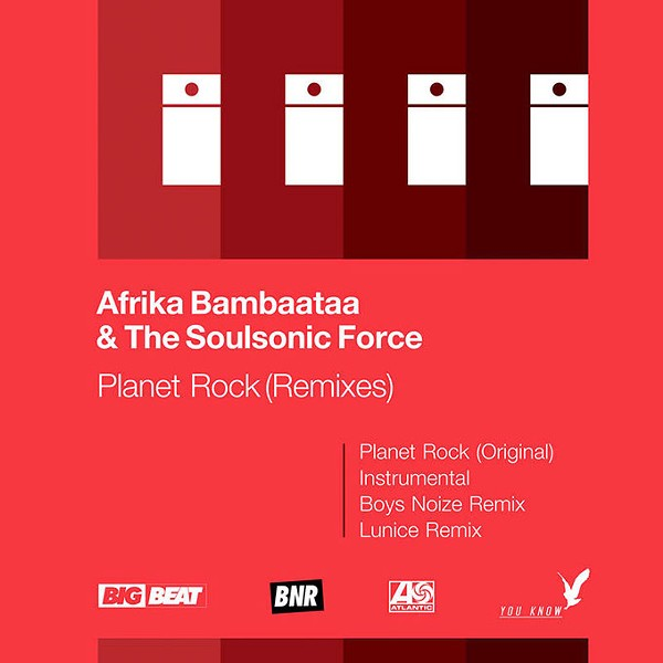 "Afrika Bambaataa & The Soulsonic Force's exclusive RSD 12-inch vinyl remixes of ""Planet Rock"" (Provided)"