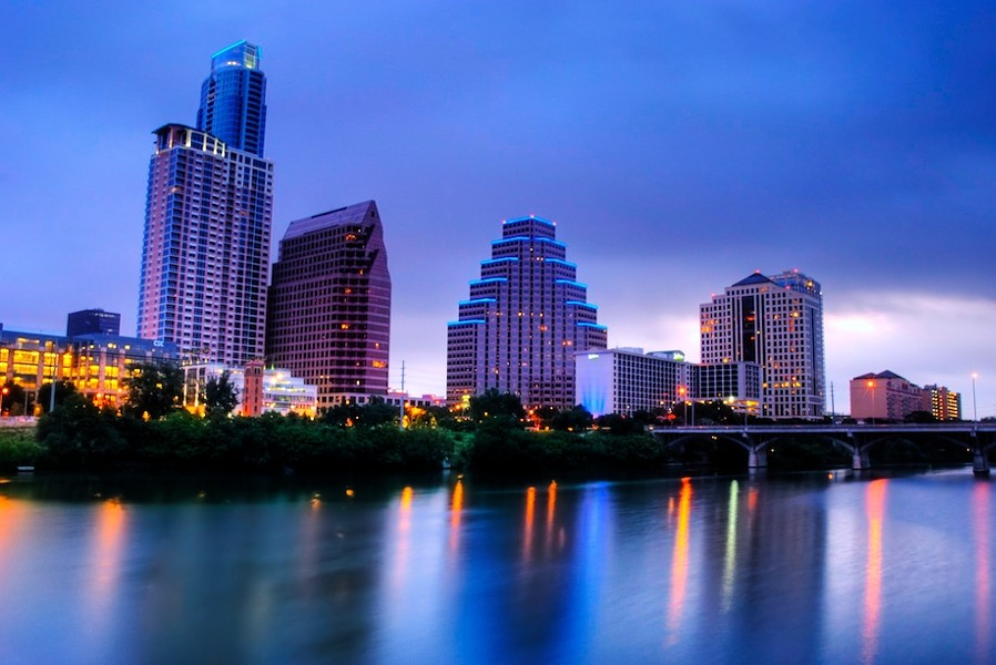Downtown Austin, Texas. - JIM NIX/CREATIVE COMMONS FLICKR