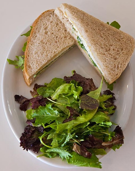 Grab N Go Turkey Pastrami Sandwich with Mixed Greens on the side (Mark Hancock)