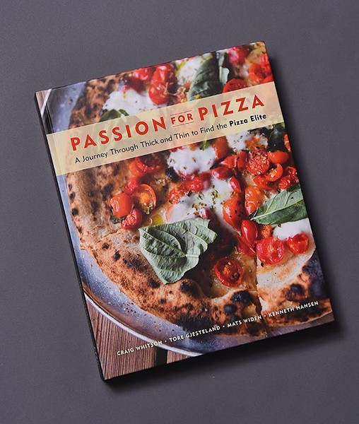 Passion for Pizza co authored by Craig Whitson, 10-13-15. - MARK HANCOCK