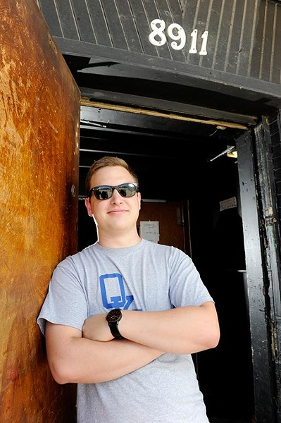 Nick Hampson, owner of the 89th Street Collective, poses for a photo, Monday, June 1, 2015. - GARETT FISBECK