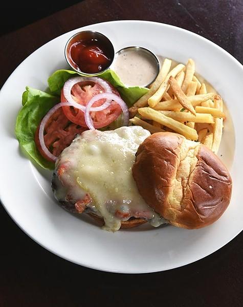 The beef tenderloin sandwich at West on north Western Avenue in OKC, 12-11-15. - MARK HANCOCK