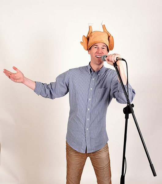 Comedian Spencer Hicks. (Mark Hancock)