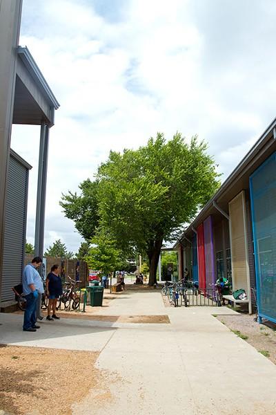 Outside The Homeless Alliance in Oklahoma City, Wednesday, July 22, 2015. - KEATON DRAPER
