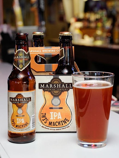 Marshall This Machine IPA at Classics in Oklahoma City, Monday, Feb. 16, 2015. - GARETT FISBECK