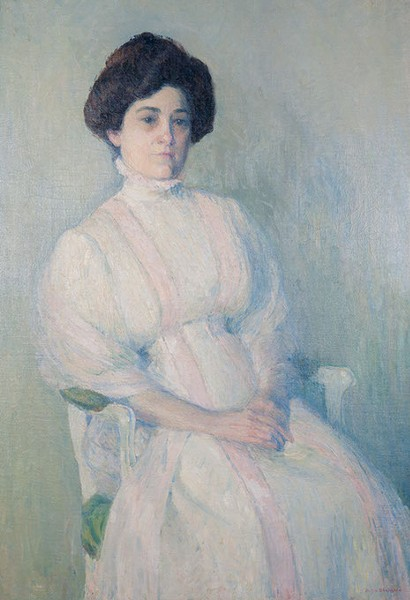 "Ellie Shepherd's ""Lottie,"" ca. 1910 (Photo Oklahoma City Museum of Art / Gift of the Oklahoma Art League with additional funds from the Isabel Croft Memorial / Provided)"