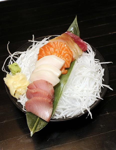 Sashimi variety at Saii Bistro & Sushi Bar in Oklahoma City, Wednesday, Dec. 23, 2015. - GARETT FISBECK