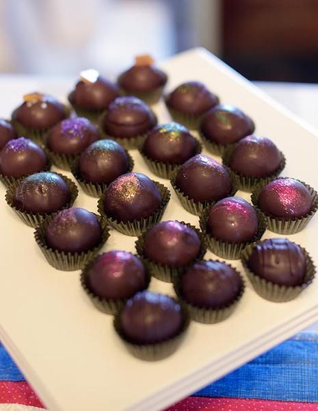 Chocolate Truffels at Cocoaphilia, Wednesday, Jan. 18, 2017. - GARETT FISBECK