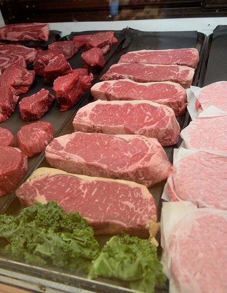 Meat case at at The Meat House in Edmond, Monday, Aug. 29, 2016. - GARETT FISBECK
