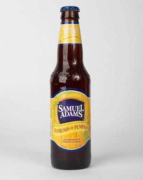 Samuel Adams 20 Pounds of Pumpkin for Gazette Fall Brew Review 2016. - GARETT FISBECK