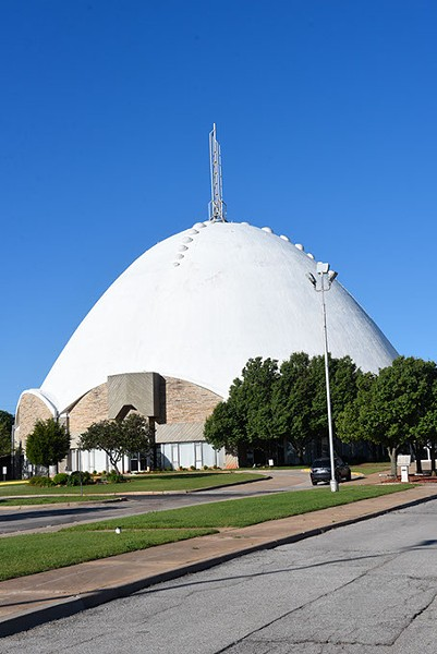 First Christian Church, possibly Oklahoma City's most recognizable example of midcentury modern architecture, celebrates its 60th anniversary this year. (Garett Fisbeck)