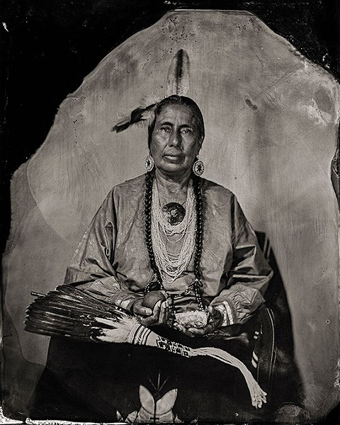 Casey Camp-Horinek, Citizen of Ponca Tribe of Oklahoma (Will Wilson / Fred Jones Jr. Museum of Art / provided)