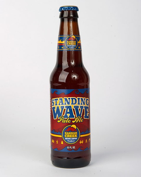 Kannah Creek Brewing Company Standing Wave Pale Ale for Gazette Fall Brew Review 2016. - GARETT FISBECK