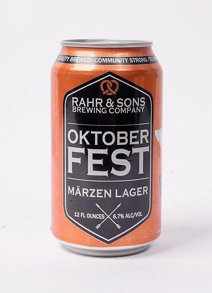 Rahr & Sons Oktoberfest Marzen Lager for Fall Brew Review 2017. - GARETT FISBECK