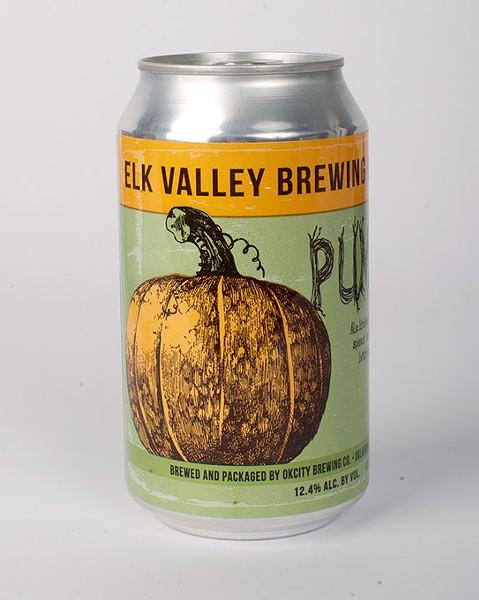 Elk Valley Brewing Co. Pumpion 2016 for Gazette Fall Brew Review 2016. - GARETT FISBECK