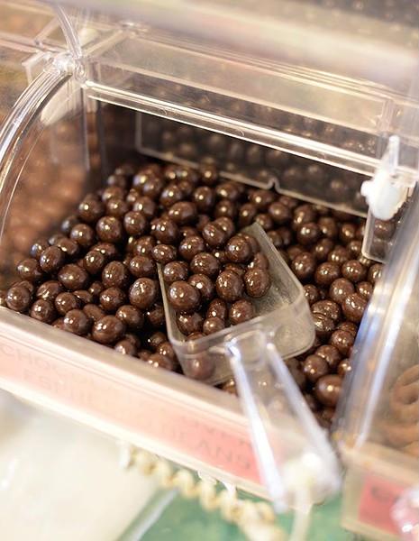 Chocolate covered espresso beans at Bricktown Candy Co., Thursday, Jan. 19, 2017. - GARETT FISBECK