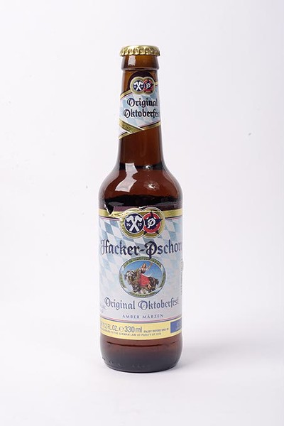 Hacker-Pschort Original Oktoberfest for Fall Brew Review 2017. - GARETT FISBECK