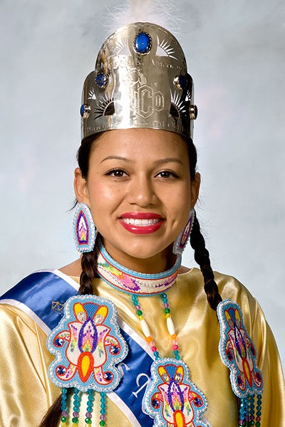 Jessica New Moon, president of UCO Native American Student Association (Photo provided)