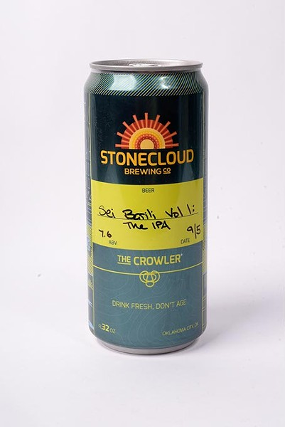 Stonecloud Brewing Co Sei Barili Vol 1 IPA for Fall Brew Review 2017. - GARETT FISBECK