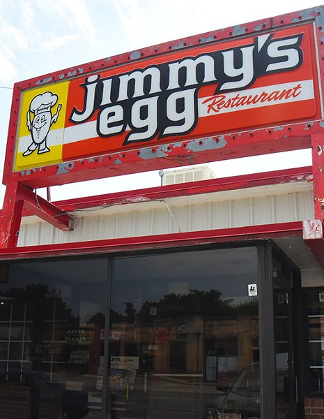 Jimmy's Egg at 16 & May Ave.  mh