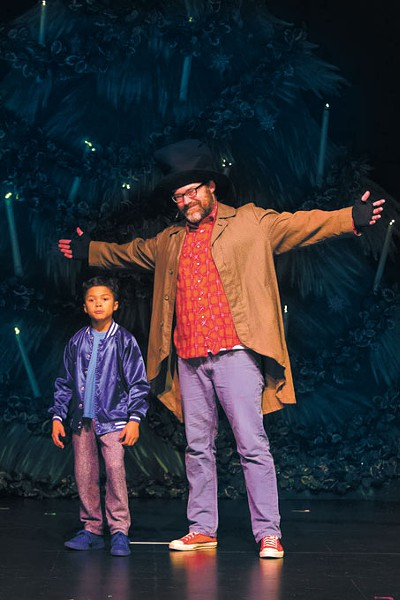 Daxton Anderson and Chistopher Shepard have starring roles in RACE Dance Company's performance of Hip Hop Nutcracker. | Photo RACE Dance Company / provided