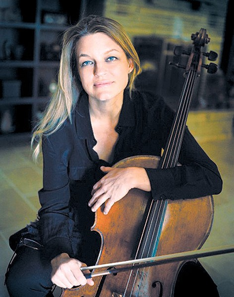 Cellist and Norman native Valorie Tatge has been performing with OKC Philharmonic for more than 25 years. | Photo Larry Moore / provided