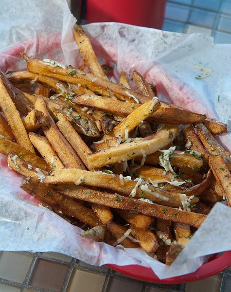 Duck Fat Fries at Mutts.  mh