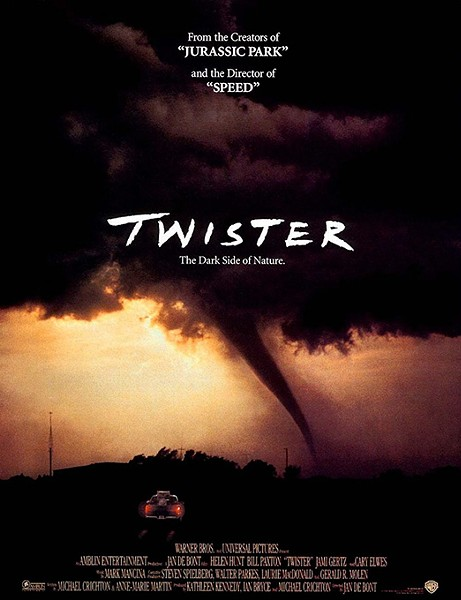 Jan de Bont's 1996 film Twister was shot on location in Oklahoma. (Image Warner Bros. / provided)